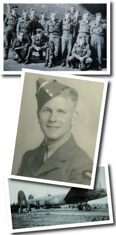 Images of Flying Officer Russell Frederick Hubley